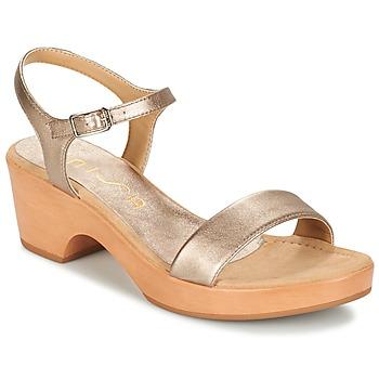 Boty Ženy Sandály Unisa IRITA Stříbřitá