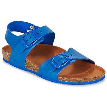 Boty Chlapecké Sandály Garvalin SOULI Modrá