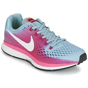 Boty Ženy Běžecké / Krosové boty Nike AIR ZOOM PEGASUS 34 Modrá / Fuchsiová
