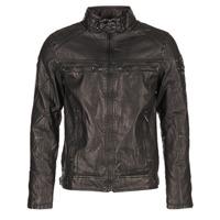 Textil Muži Kožené bundy / imitace kůže Deeluxe SPANGLE Černá