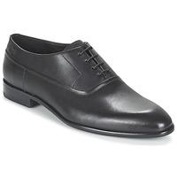 Boty Muži Šněrovací společenská obuv HUGO-Hugo Boss 50327201 Černá