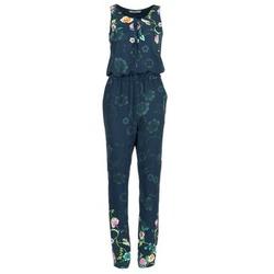 Textil Ženy Overaly / Kalhoty s laclem Desigual RETOL Tmavě modrá