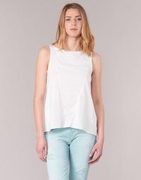 Textil Ženy Tílka / Trička bez rukávů  Desigual ROMINESSA Bílá