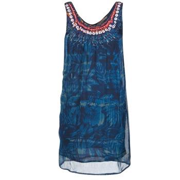 Textil Ženy Krátké šaty Desigual LIORISE Modrá