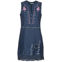 Textil Ženy Krátké šaty Desigual LIORASE Modrá