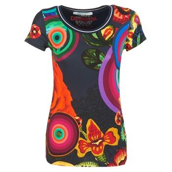 Textil Ženy Trička s krátkým rukávem Desigual GRIZILLO