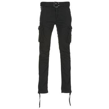 Textil Muži Cargo trousers  Schott TR RANGER 70 Černá