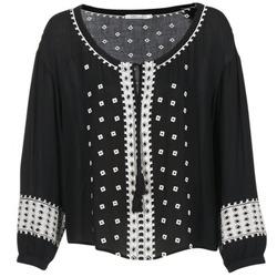 Textil Ženy Halenky / Blůzy See U Soon 7117029 Černá