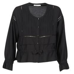 Textil Ženy Halenky / Blůzy See U Soon 7113001 Černá