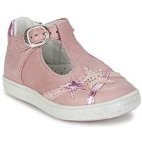 Boty Dívčí Baleríny  Babybotte STARMISS Růžová