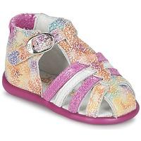 Boty Dívčí Sandály Babybotte GUPPY Růžová