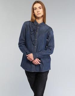 Textil Ženy Košile / Halenky Diesel DE KELLY Modrá