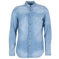 Textil Muži Košile s dlouhymi rukávy Diesel D CARRY Modrá