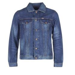 Textil Muži Riflové bundy Diesel NHILL Modrá