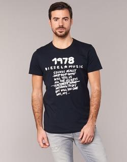 Textil Muži Trička s krátkým rukávem Diesel T DIEGO NB Černá