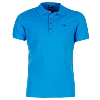 Textil Muži Polo s krátkými rukávy Diesel T HEAL Modrá