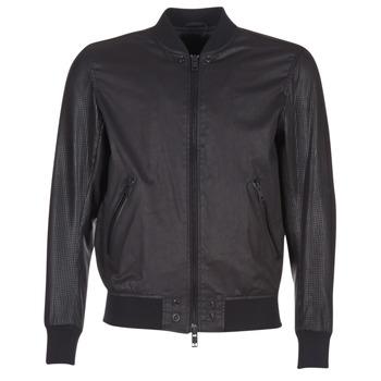 Textil Muži Kožené bundy / imitace kůže Diesel L POWELL Černá