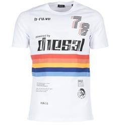 Textil Muži Trička s krátkým rukávem Diesel T JOE OB Bílá