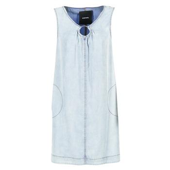 Diesel Krátké šaty DE ISBEC - Modrá