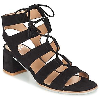 Boty Ženy Sandály Perlato QUEZOKA Černá