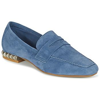 Boty Ženy Mokasíny Perlato KAMINA Modrá