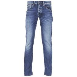 Textil Muži Rifle rovné Pepe jeans TRACK Modrá