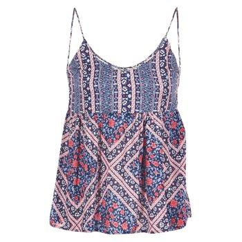 Textil Ženy Halenky / Blůzy Pepe jeans MERY Modrá / Růžová