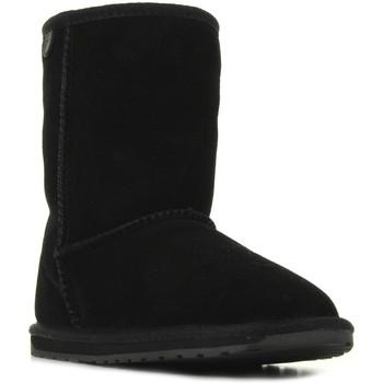 Boty Dívčí Kotníkové boty EMU Wallaby Lo Černá