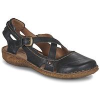 Boty Ženy Sandály Josef Seibel ROSALIE 13 Černá