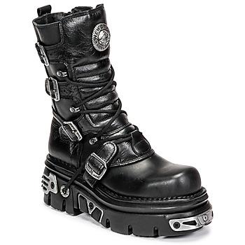 Boty Ženy Kotníkové boty New Rock NEMESIS Černá