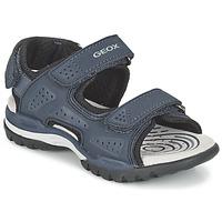 Boty Chlapecké Sportovní sandály Geox J BOREALIS B. B Tmavě modrá