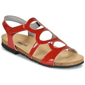 Boty Ženy Sandály Arcus BERNER Červená