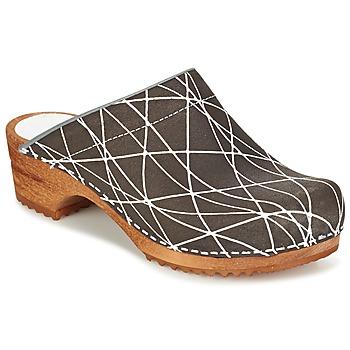 Boty Ženy Pantofle Sanita ARLA Antracitová