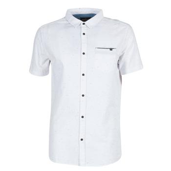 Textil Muži Košile s krátkými rukávy Rip Curl STARDUST Bílá