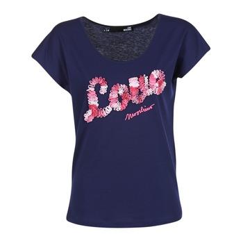 Textil Ženy Trička s krátkým rukávem Love Moschino W4G4127 Modrá