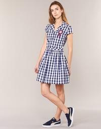 Textil Ženy Krátké šaty Love Moschino WVF3001 Modrá / Bílá