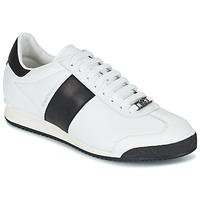 Boty Muži Nízké tenisky Roberto Cavalli 2042C Bílá / Černá