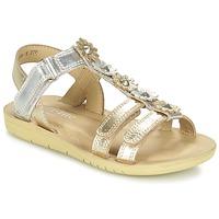 Boty Dívčí Sandály Start Rite LUNA Zlatá