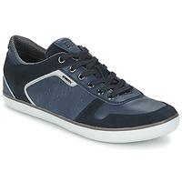 Boty Muži Nízké tenisky Geox BOX Tmavě modrá