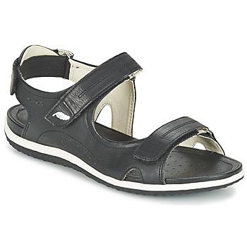 Boty Ženy Sportovní sandály Geox D SAND.VEGA A Černá