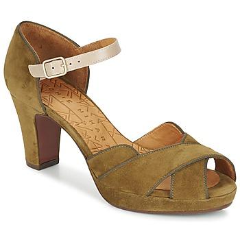 Boty Ženy Sandály Chie Mihara ISY Khaki