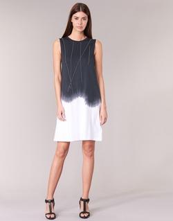 Textil Ženy Krátké šaty Replay WOOPINA Černá / Bílá