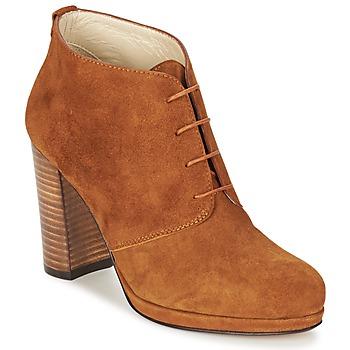 Polokozačky / Kotníkové boty Betty London PANAY Velbloudí hnědá 350x350