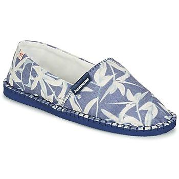 Boty Espadrilky  Havaianas ORIGINE ORQUIDEAS Tmavě modrá / Bílá