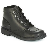 Boty Ženy Kotníkové boty Kickers KICK COL PERM Černá