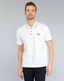 Textil Muži Polo s krátkými rukávy Puma PUMA HERO POLO Bílá