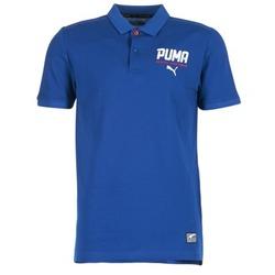 Textil Muži Polo s krátkými rukávy Puma STYLE TEC POLO Modrá