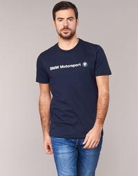 Textil Muži Trička s krátkým rukávem Puma BMW MSP LOGO TEE Tmavě modrá