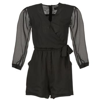 Textil Ženy Overaly / Kalhoty s laclem Eleven Paris CAKE Černá