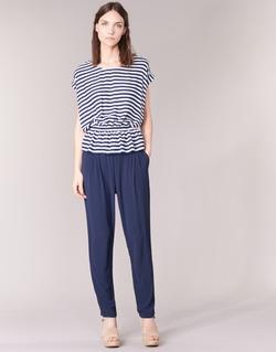 Textil Ženy Turecké kalhoty / Harémky Molly Bracken FODES Tmavě modrá